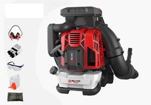 88cc Petrol Lightweight Backpack Leaf Blower Powerful 2 Stroke Air Cooled Engine