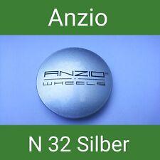 N 32 Anzio Orginal silber Nabenkappen  Felgendeckel 64 mm 1 St.