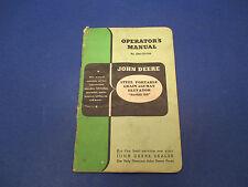 John Deere Opr. Manual No.OM-C23-950 Steel Portable Grain&Hay Elevator Series 50