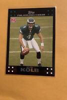 2007 Topps Kevin Kolb RC Rookie #290