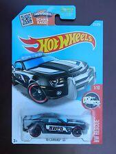 Hot Wheels '10 Camaro SS HW Rescue 1 / 10 HWPD Highway Patrol black Police 211