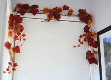Artificial Grape Ivy Autumn Garland 6ft weddings autumnal harvest foliage