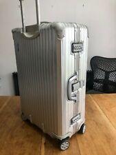Rimowa Topas 932.70.004 Spinner Suitcase 74.5cm Silver (006)
