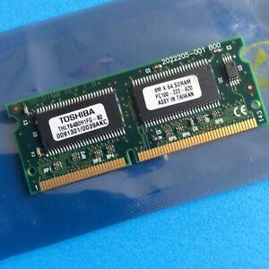 Vintage Laptop Memory - Toshiba THLY6480H1FG-80 64MB PC100 100MHz 144-Pin