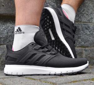 Adidas Energy Cloud 2 Men's Sneaker Running Shoes Sport Shoes Black/White 44 45