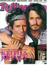 ROLLING STONE 44 2007 KEITH RICHARDS JOHNNY DEPP JEFF BUCKLEY MUSE PEARL JAM WHO