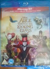 Alice Through The Looking Glass - 3D Blu-Ray Region A, B & C compatible