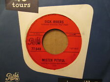 DICK RIVERS - Mister Pitiful (OTIS REDDING) - PATHE 77.648 (CANADA) 45rpm