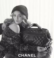 Stunning! Auth. CHANEL Coco Cocoon Quilted Nylon Trolley $3700