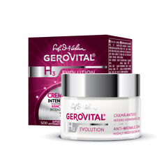 Gerovital H3 Evolution 45 Anti-wrinkle Cream Anti Rughe Idratazione Intensa