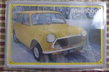 Mini 1000 Car Tin Metal Sign Painted Poster Comics Book Superhero Wall Ar