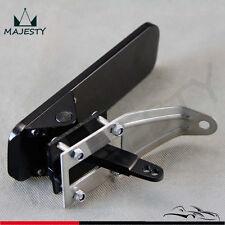 Billet Gas Throttle Pedal Floor Mount Hot Rod Rat For Chevy Ford Mopar SBC Black