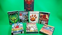 PC Game Lot of 8 Great Games! Diablo 3, Sim City 4, Quake 4, & More! PLEASE READ