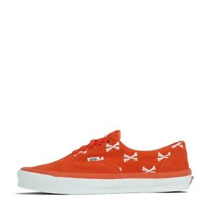 Vans Vault OG ERA LX x WTAPS Bones Low Top Men's Trainers Shoes Orange UK 10