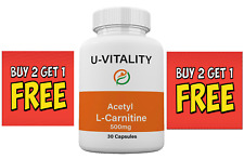 Acetyl L- Carnitine 500mg Brain Function and Energy Boost