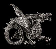 Zweiköpfige Drachen Figur - Verath & Darko - Fantasy Gothic Statue Geschenk Deko