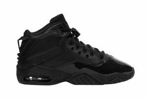 NEW Nike Air Jordan B'Loyal (GS) CK1425 004 Triple Black Big Kid's Sneakers