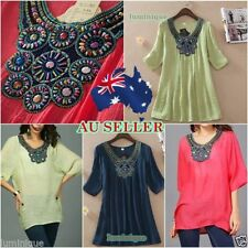 3/4 Sleeve Hand-wash Only Casual Tops for Women