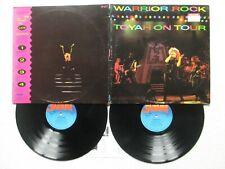 """2 LP 33T TOYAH """"Warrior rock - Toyah on tour"""" SAFARI TNT 1 UK 1982 /"""