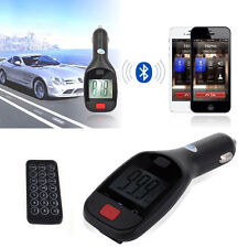 Bluetooth Car Kit Charger FM Transmitter Handsfree MP3 Player for iPhone US
