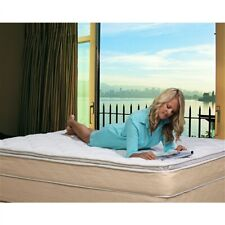 Home Bedroom Twin 10-inch High Profile Innerspring Plush Pillow Top Mattress