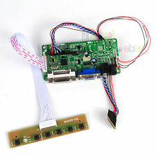 DVI+VGA+Audio LCD Controller Board Driver For LTN156AT23-W01 1366X768 LVDS 40PIN