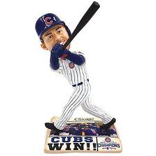 2016 World Series Champions Chicago Cubs Kris Bryant  Bobblehead Newspaper Base