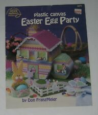 """EASTER EGG PARTY""~Plastic Canvas PATTERN BOOKLET"