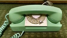 Vintage Automatic Electric Rotary Dial Starlite Phone GREEN Working