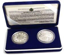 San Marino 5 und 10 Euro Silber 2002 PP Willkommmen Euro Satz