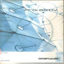 PRO-ACTIV - Conceptualismo ( Mexican Band of Electro ) Cd Rock Mexican Edition