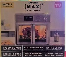 Kalorik 26-qt. Digital MAXX Air Fryer Toaster Oven As Seen on TV New