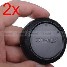 2x Finely-made Rear Cap Cover for Fuji Fujifilm Micro SLR Camera X-Mount Lens