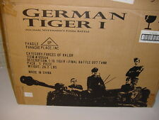 Unimax Forces of Valor 1:16th Scale German Tiger I - Wittman's Final Battle NIB!