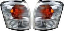 Pair of Corner Indicators Lights Toyota Hilux 11/2001-01/2005 New Lamps 02 03 04