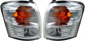 Pair Corner Indicators Lights For Toyota Hilux 11/2001-01/2005 New Lamps 02 03