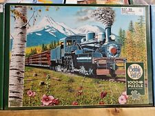 Cobble Hill 1000 piece Puzzle - Train Lumbering Along - Sealed 80169