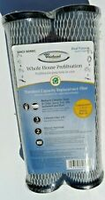 New Whirlpool Whole House Pre-Filtration Carbon Filters, WHCF-WHWC,2-Pack