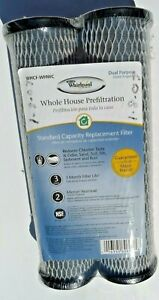 New Whirlpool Whole House Pre-Filtration Carbon Filters,  WHCF-WHWC, 2-Pack