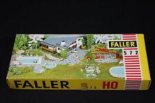 W044 FALLER Train Maquette Ho 572 Piscine + équipement de jardin bain eau