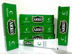 ARKO CLASSIC CREAM AFTERSHAVE MOISTURISING DRY HAND OILY CARE CREAM BEESWAX 20ML