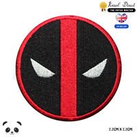 Deadpool Super Hero Movie Embroidered Iron On Sew On PatchBadge For Clothes etc