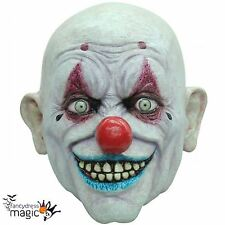 Crappy The Clown Circus Killer Halloween Horror Latex Full Head Fancy Dress Mask
