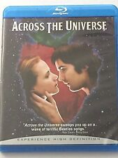 Across the Universe Blu-ray Disc 2008 Beatles Music Songs DVD Movie HD BluRay