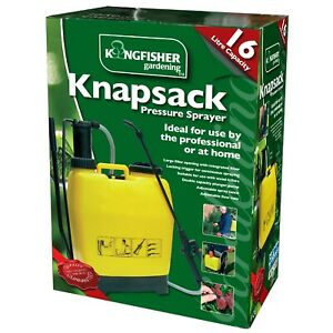 Kingfisher 16l Backpack Sprayer Locking Trigger Adjustable Quick Release Harness