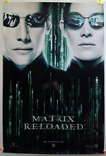 The Matrix Reloaded 2003 Original Movie Poster 27x40 Rolled Single-Sided, Glossy