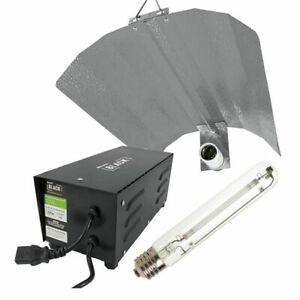 Lumii Black Magnetic Kit 600w HPS Hydroponic Grow Light Lamp Ballast Reflector