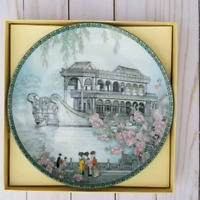 The Marble Boat Traditional Imperial Jingdezhan Porcelain Summer Palace plate