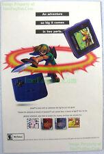 The Legend of Zelda Oracle of Seasons & Ages Game Boy Color ☆ Original Print Ad!