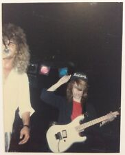 FOUND Vintage Photograph 1980's Glam Metal Band Los Angeles California Photo D